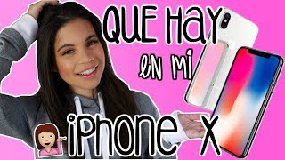 Whats on my iPhone X -  Que hay en mi iPhone X | Alejandra Avila