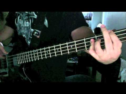 Edguy Pandora S Box Bass Guitar Cover With Tab Youtube