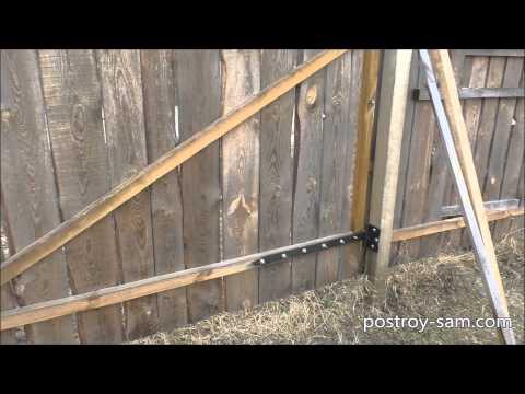 Заборы Забор из профнастила, из сетки рабица, из дерева