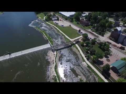 UAV Footage, Fox River, Yorkville, IL