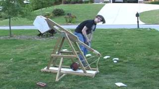 2010 School Science Project: Trebuchet