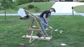 2010 School Science Project: Trebuchet