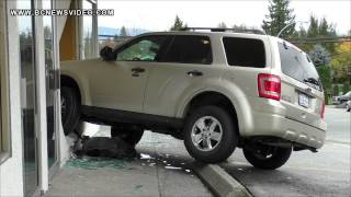 Vehicle Crashed Into Store Driver Accidently Pressed Gas pedal Pitt River Rd & Columbia St