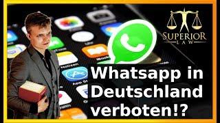 Whatsapp offiziell illegal? Nicht ganz...