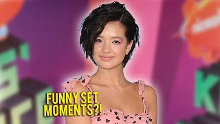 "Peyton elizabeth lee stopped by at the 2019 kids' choice awards to talk us about funniest ""andi mack"" set moment, whether or not she watches episo..."