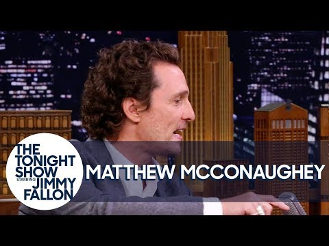 Matthew McConaughey and Jimmy Swap Airstream Camping Stories