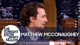 Matthew McConaughey and Jimmy Swap Airstream Camping Stories