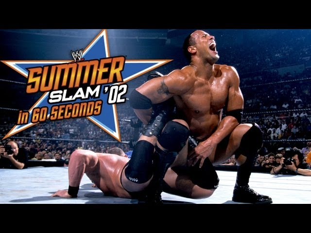 SummerSlam in 60 Seconds: SummerSlam 2002