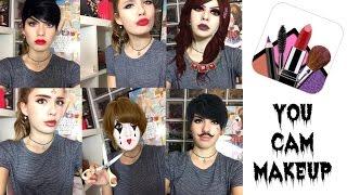 JE SUIS ENCORE UN FAKE ➡️ Se maquiller en ligne avec YOU CAM MAKEUP !!