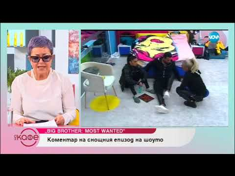 """Коментар на последните събития във Big Brother: Most wanted - """"На кафе"""" (14.11.2018)"""
