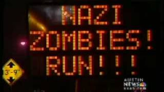 News Story Nazi Zombie road sign hack
