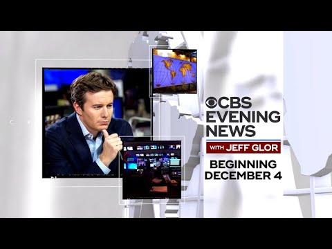 """CBS Evening News with Jeff Glor"" begins Dec. 4"