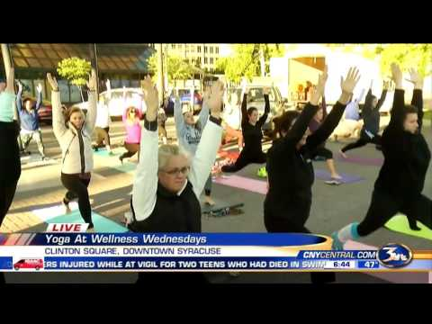 Brandon Roth Live Previewing Wellness Wednesday Yoga 6/15/16