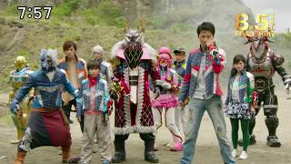 Uchuu Sentai KyuuRanger the Movie: Gase Indaver Strikes Back Trailer 3 (RAW)