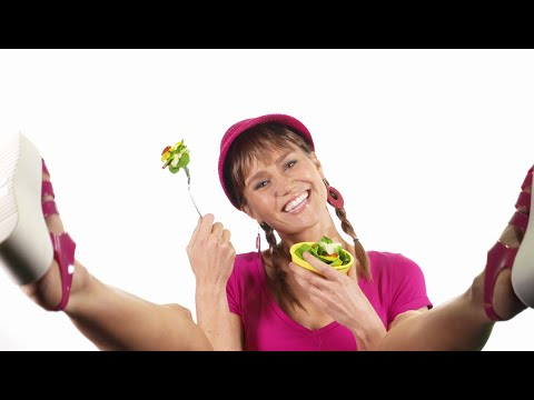 Women Laughing Alone With Salad | Kirk Douglas Theatre