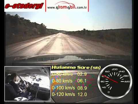 Yeni BMW 116i otomatik test (0-100 km/s, 100-0 km/s)