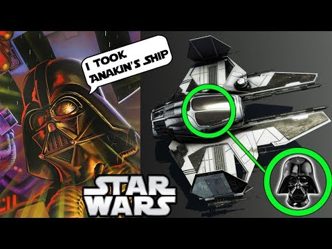 DARTH VADER'S SHIP BEFORE TIE FIGHTERS EXISTED (important vid) - Star Wars Explained