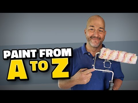 DIY How to Paint like a Pro Series A to Z