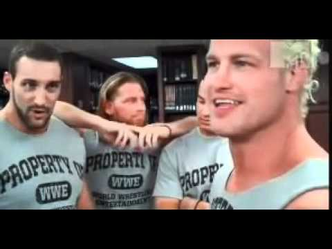 Dolph Ziggler Behind The Scene's On MTV Silent Library