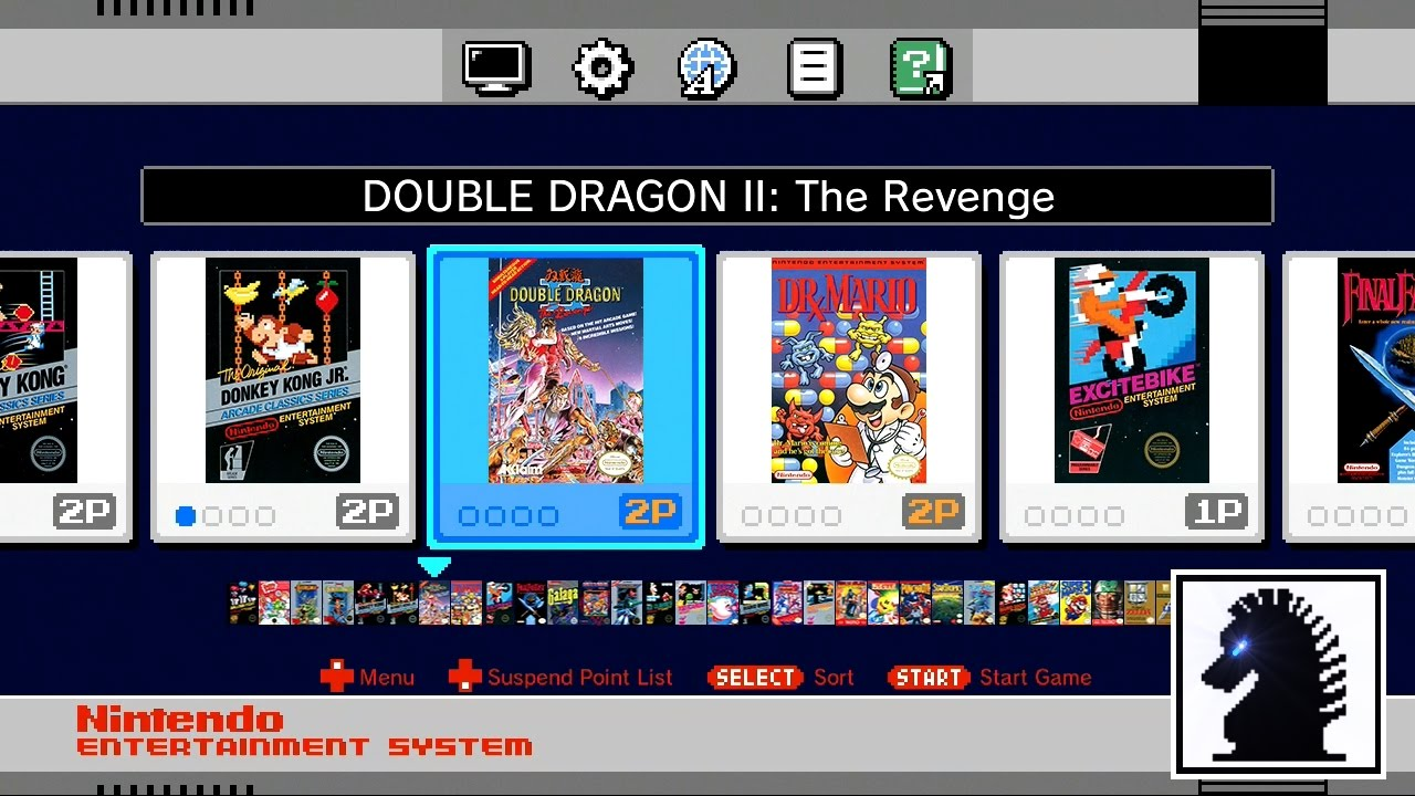 Nes Classic Mini 07 Double Dragon Ii Youtube