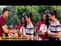 Magic Snake Prank On Cute Girls | Crazy Sumit