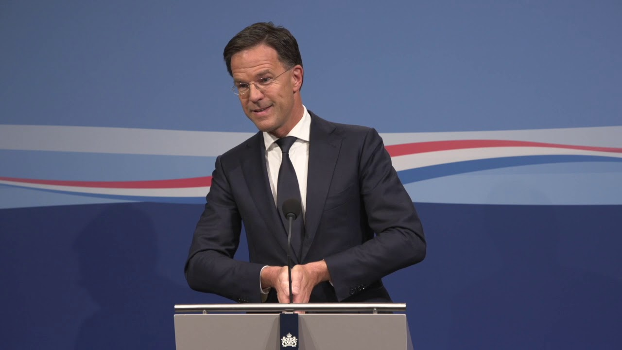 Integrale Persconferentie MP Rutte 29 Mei 2019