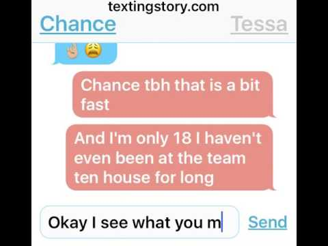 Chance wants to move in with Tessa// story