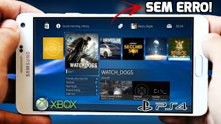 SAIU!! EMUALDOR DE PS4/XBOX PARA ANDROID - COMO JOGAR SEM ERRO (GLOUD GAMES)