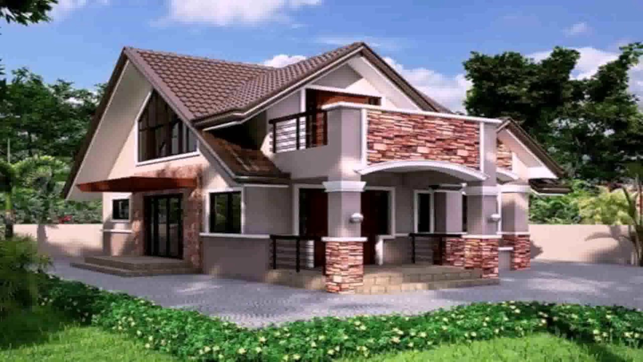 Small bungalow house design in the philippines youtube for Small bungalow house design in the philippines