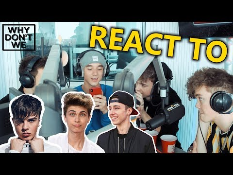 WHY DON'T WE REACT TO Lukas Rieger, Mike Singer & Mario Novembre
