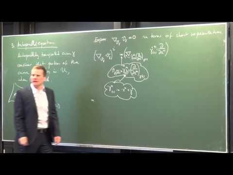 Lecture 8: Parallel Transport & Curvature (International Winter School on Gravity and Light 2015)