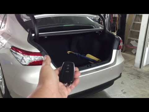 Toyota Camry Hybrid👉2018 Installed Electronic Tailgate Lift N Vaccum Lock