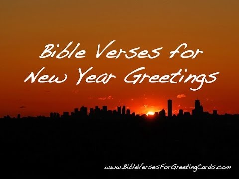 Bible Verses for New Year - YouTube