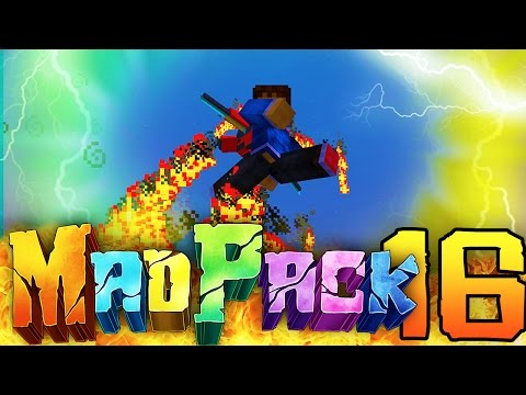 "Minecraft MAD PACK 2: ""JETPACK!"" Episode 16 (Flying, Alloys, Twilight Forest!)"