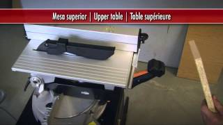 Tm33w Laser Mitre Saw With Upper Table