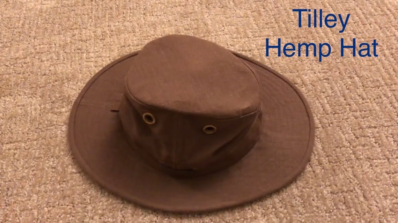 Tilley Hemp Hat Review - Tilley TH5 - YouTube 078192e1757