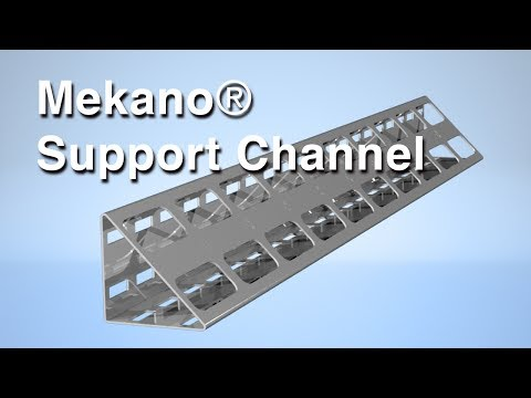 Mekano® Triangular Support Channel