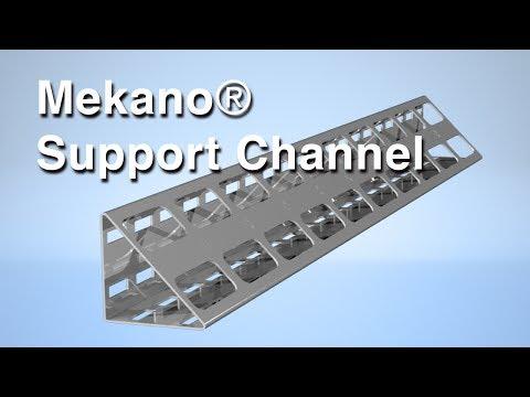 Mekano® Triangular Support Channel