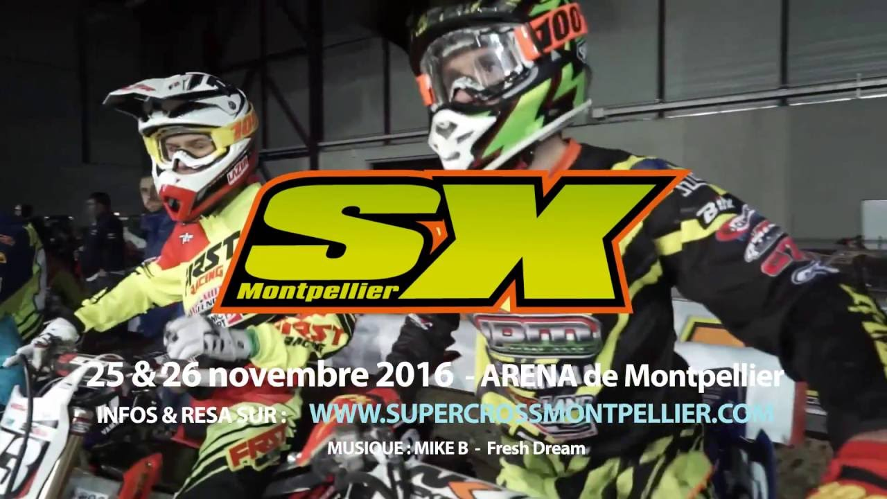 Supercross De Montpellier 2016