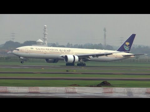 [HD] Traffic spotting at Jakarta Soekarno-Hatta International Airport - 30/08/2016