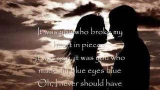 blue eyes blue by nina (with lyrics)