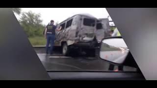 Смотреть видео ДТП на М-7 Уфа-Москва 17,07 онлайн