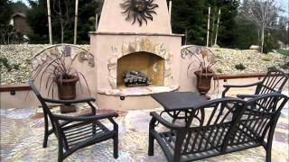 Orangevale Grand Spa Surround, Outdoor Kitchen, Fireplace By Gpt Construction