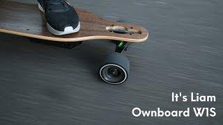 New electric skateboard (Ownboard W1S) - It's Liam