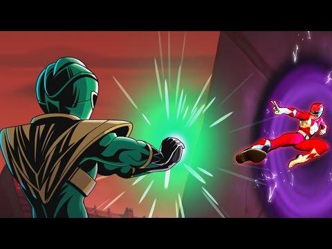 POWER RANGERS Mega Battle [FULL STORY] 2017 Animated Game Movie [OFFICIAL]