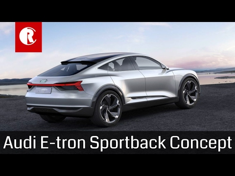 Audi E-tron Sportback concept hopes to hit the market in 2019
