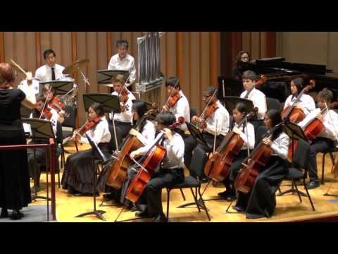 Colburn School String Orchestra plays Pirates of the Caribbean