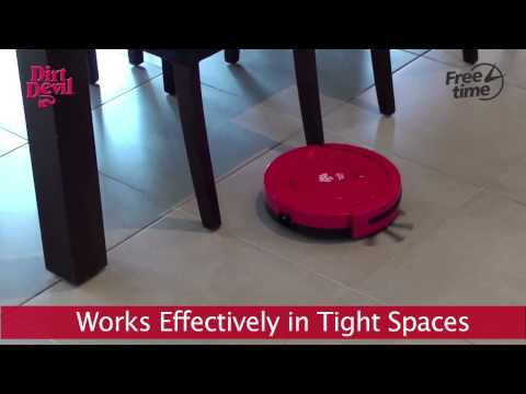 Devil - Free Time Robotic Hard Floor Sweeper