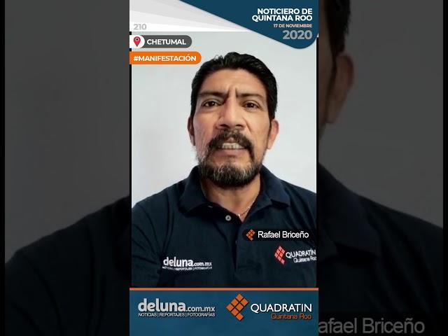 NOTICIERO DE QUINTANA ROO 17 DE NOVIEMBRE 2020