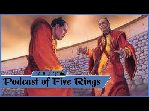 L5R Phoenix Clan Card Discussion -  Podcast of Five Rings Episode 19, Part 1